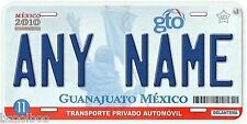 Guanajuato Mexico Any Name Number Novelty Auto Car License Plate C01