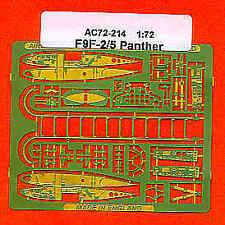 Airwaves 1/72 F9F-2/5 Panther Wingfold for Hasegawa kit # AEC72214