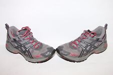 ASICS GEL ENDURO 6 WOMENS Running Trail Sneakers Sz 7.5 GRAY PINK ATHLETIC T0F7N