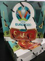 Sealed 19/20 Panini Select UEFA Euro 2020 Soccer Hobby Box Mbappe Ronaldo