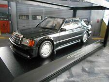 Mercedes Benz 190 190e 2.5-16v evo 1 MKI Black negro Minichamps DIECAST 1:18