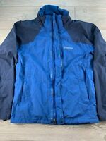 *Marmot Men's Full Zip Windbreaker Jacket Size Small (Blue/Navy)