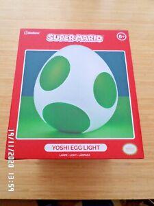 PALADONE SUPER MARIO YOSHI EGG LIGHT  USB POWERED  NINTENDO LIGHT