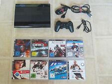 Playstation 3 Super Slim Konsole 12GB mit 3 Gratis Spiele und Controller PS3