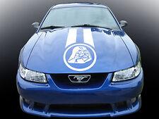 RACE STRIPE Star Wars Darth Vader. Custom car vinyl sticker. Viper transfer.
