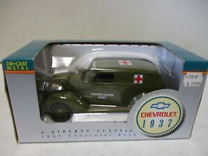 Spec Cast United States Army Ambulance 1937 Chevrolet Bank