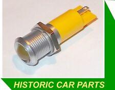 LARGE AMBER LED WARNING LIGHT 12v for Auto Vehicle Accessory