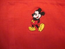 Walt Disney World Mickey Mouse Souvenir Pen Pocket Red Cotton T Shirt Size XL/L