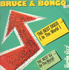 BRUCE & BONGO - The Best Disco (In The World) / The Best DJ (In The World)