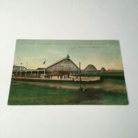 1909 Coney Island Postcard The Giant Coaster Built Of Steel Brighton Beach NY