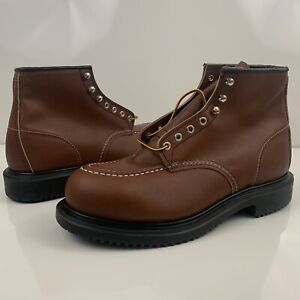 Red Wing Oil Resistant Long Wear Work Steel Toe Safety Boots Size US 11 EEE 8249