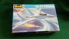 Su-27 Flanker Revell micro Fighters 1/144