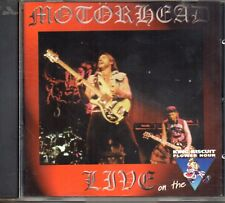 Motörhead ‎– Live On The King Biscuit Flower Hour CD 1998