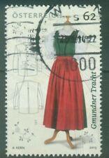Österreich 2013 Klassische Trachten Nr. 1 Gmundner Tracht  Mi 3088 ANK 3117 ⊙