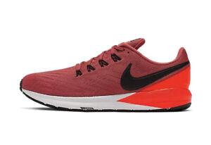 Nike Air Zoom Structure 22 Men's Size 11.5 AA1636-600 Black/Crimson