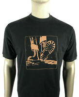 Trojan Records Tee - Trojan Records Men's TR8521 Moonstomp Crew T Shirt Black