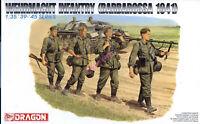 Dragon 6105 1/35 WWII German Wehrmacht Infantry (Barbarossa 1941) (4 Figures)