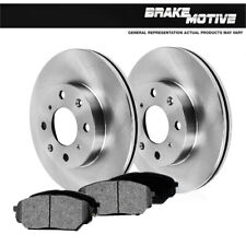 For 1998 1999 - 2002 Toyota Corolla Chevy Prizm Front Rotors & Metallic Pads