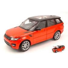 Range Rover Sport 2014 Orange/black 1 24 Welly Auto Stradali Die cast Modellino