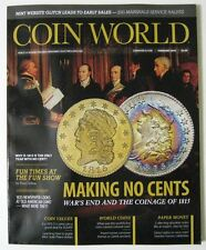 COIN WORLD Magazine February 2015 - Making No Cents & The Coinage Of 1815