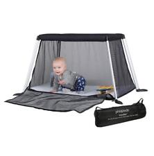 Phil & Teds Traveller v4 (Black) Portable Baby Travel Cot