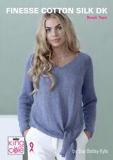 Finesse Algodón Seda Dk de Mujer Punto Doble Folleto 10 Moda Patrones