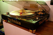 TECHNICS SL 1200 GLD GOLD   LIMITED GOLD EDITION SET (100% Brand New / Sealed)