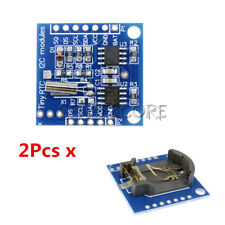 2Stks Arduino I2C DS1307 RTC AT24C32 Real Time Clock Module For AVR ARM PIC SMD