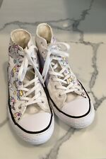 Converse All Star Unicorn Rainbow High Top Chuck Taylor Sneakers Kids Size 2