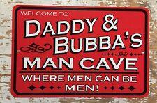 Metal Personalized Signs, Man Cave Garage Shop Pool, Men Can Be Men