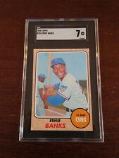 1968 Topps #355 Ernie Banks SGC 7 NM HOF Chicago Cubs