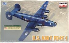 1:72 Scale US Navy PB4Y-1 Model Aircraft Kit - Minicraft #11659