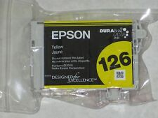 Genuine Epson 126 Yellow High-Capacity Ink Cartridge.T126420.Exp: 2015.Best Buy!