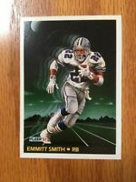Fleer Football 1992 #475 EMMITT SMITH - Dallas Cowboys (HOF) NFL