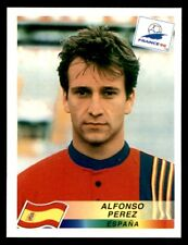 Panini France 98 (Spain) Alfonso Perez No. 244