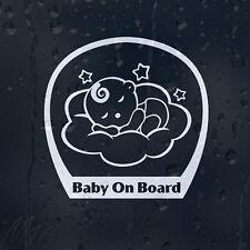 Dormir Bébé à Bord Autocollant Voiture Autocollant Vinyle pour panneau fenêtre pare-chocs