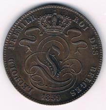 5 Centimes  1859  Leopold I   Belgium/Belgie/Belgique     Morrin 85    XXF