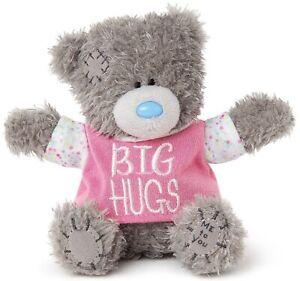 BIG HUGS Me to You Bear 3D Plush Blue Nose Friends Teddy