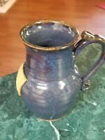Vintage studio pottery coffee mug/pitcher signed Fitch 98
