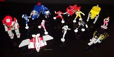 14 Micro Machine Mighty Morphin Power Rangers Figures & Their Animals & a Putty