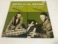 LP LUIS RIVERA & DOC BAGBY BATTLE OF THE ORGANS ALBUM (M)