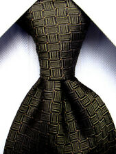 Banana Republic Black Silk Tie Made in Italy A5243