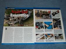 How-to Article on Rebuilding the Front Suspension on E Body Mopars '71 Barracuda