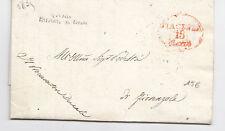 H716-PIACENZA PREF. X FIORENZUOLA 1835