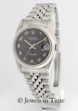 Rolex Datejust 68240 Jubilee Dial Stainless Steel Midsize Ladies Watch