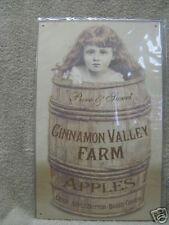 Cinnamon Valley Apples Vintage Look Metal Sign