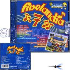 """CRISTINA D'AVENA """"FIVELANDIA 7"""" RARO CD RTI 2006 - SIGILLATO"""