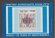 v1551 Israel  MiNr Block 23 **
