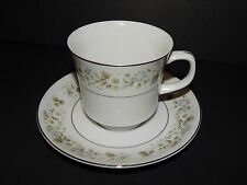 Imperial China Wild Flower 745 W Dalton Cup Saucer White Porcelain  Japan
