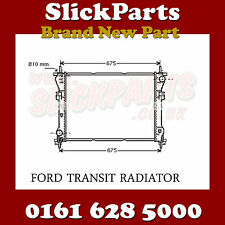 FORD TRANSIT RADIATOR 2.4 TD MANUAL 2000 2001 2002 2003 2004 2005 2006 *NEW*